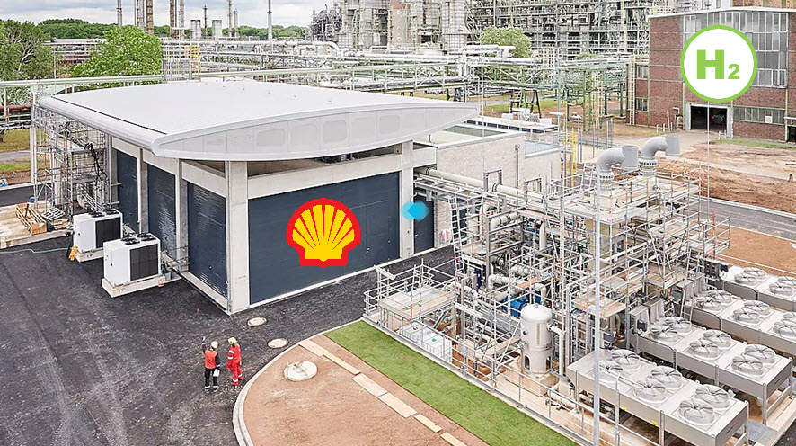 Shell Starts Up Europe's Largest PEM Green Hydrogen Electrolyser -  FuelCellsWorks