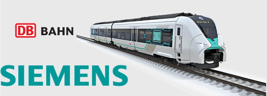 Siemens Deutsche Bahn Launch Local Hydrogen Trains Trial