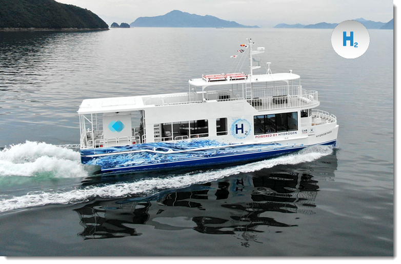 """Fuel Cells Works, CMB and Japanese Shipbuilder TFC Have Constructed the """"World's First"""" Hydrogen-Fueled Small Passenger Ferry"""