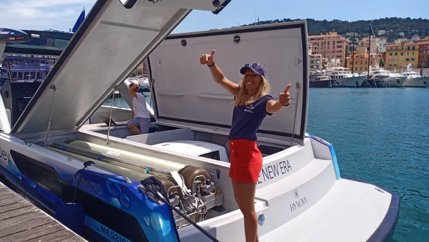 Fuel cells works, The First Hydrogen-Powered Yacht Makes Stopover in Nice