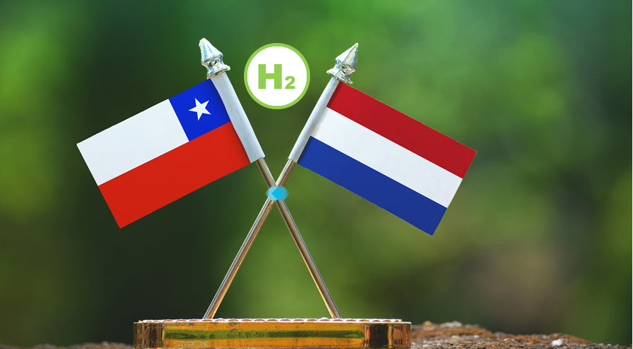 Fuel Cells Works, The Netherlands and Chile to Cooperate on Green Hydrogen Import and Export