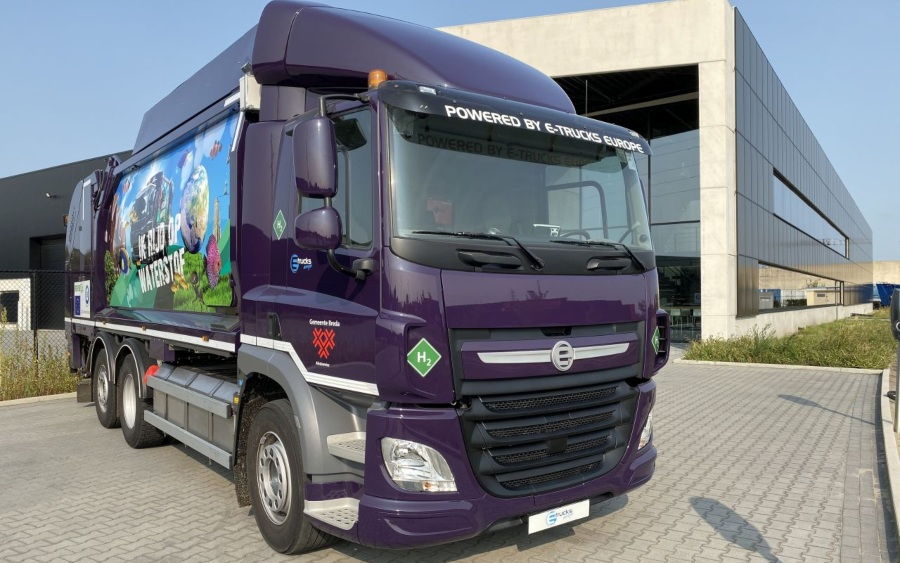 Fuel Cells Works, Emission-Free Refuse Collection Trucks With Proton Motor System In Use