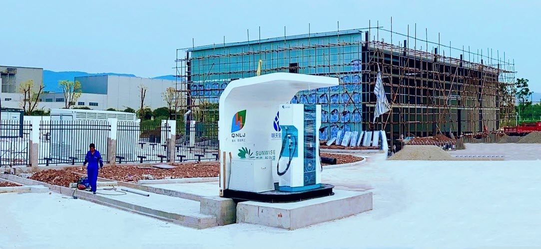 fuel cells works, China: First Hydrogen Refueling Station in Chongqing is Completed
