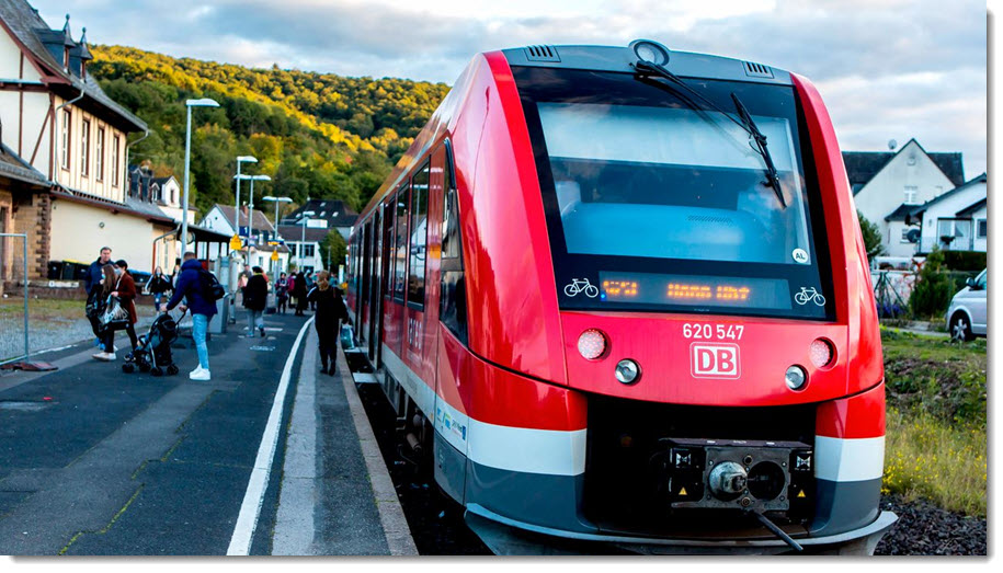 fuel cells works, Train Traffic Between Kaisersesch and Limburg to Switch to Hydrogen