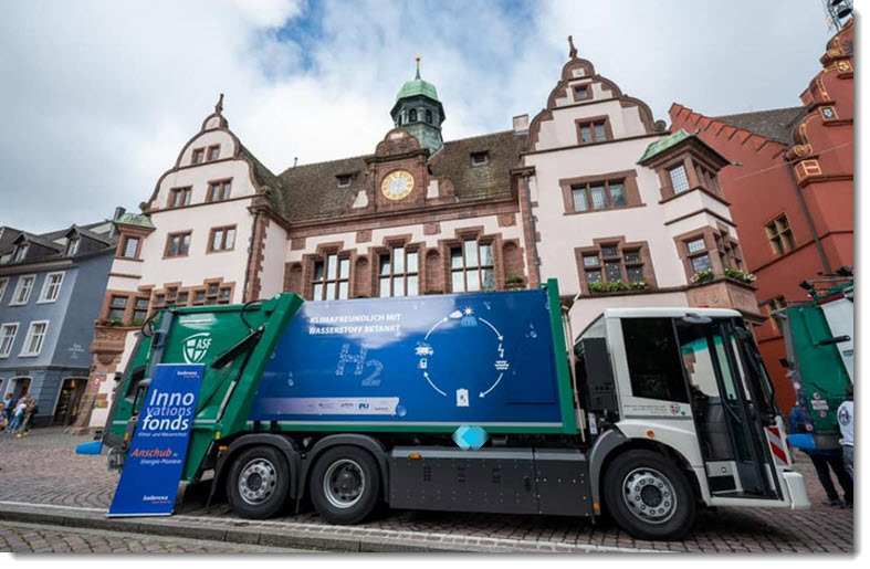Fuel Cells Works, Two Fuel Cell Vehicles for Freiburg's Waste Management Fleet