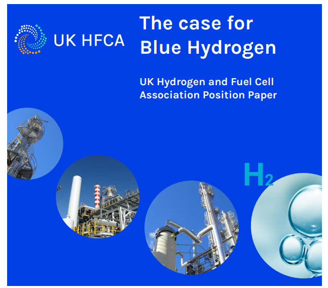 """fuel cells works, UK Hydrogen and Fuel Cell Association Presents Position Paper on """"The Case for Blue Hydrogen"""""""