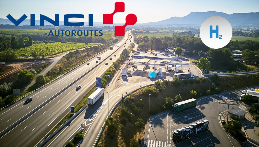 fuel cells works, France: How Vinci Autoroutes are Preparing for Arrival of Hydrogen