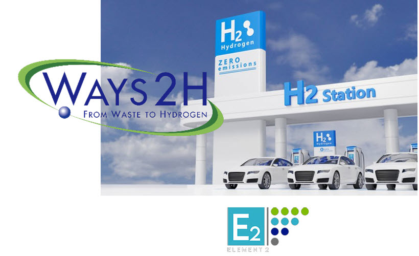 Fuel Cells Works, Thursday Throwback Story: Ways2H and Element 2 Brings 40 Waste-to-Hydrogen Refuelling Stations to the UK, Beginning in Scotland