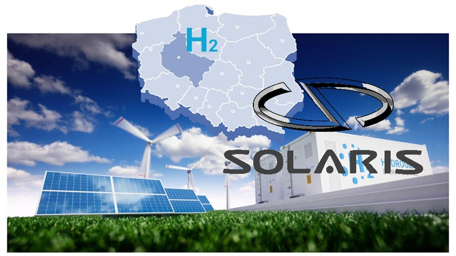 fuel cells works, Solaris Signs a Letter of Intent for Wielkopolska Hydrogen Valley