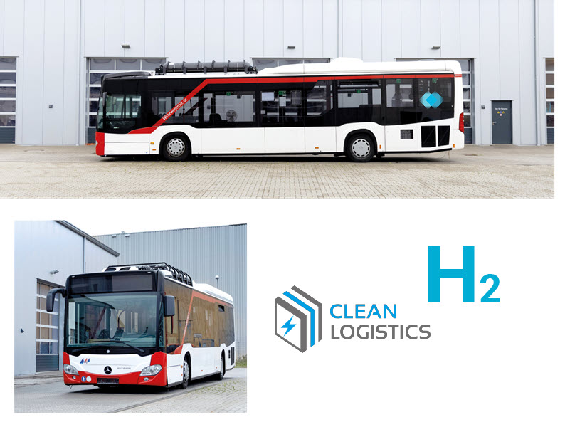 Fuel Cells Works, Delivery of Hydrogen Fuel Cell Powered HyBatt buses