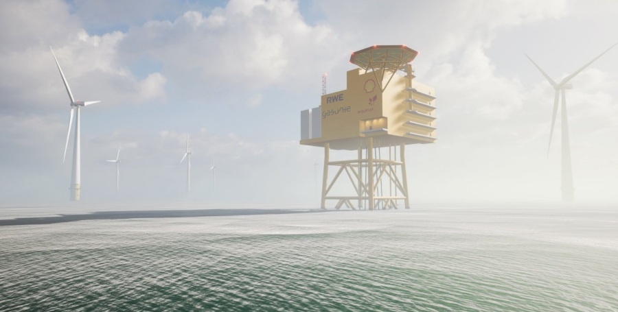 Fuel Cells Works, AquaSector: Study Investigates Potential For First Large-Scale Offshore Hydrogen Park In The German North Sea