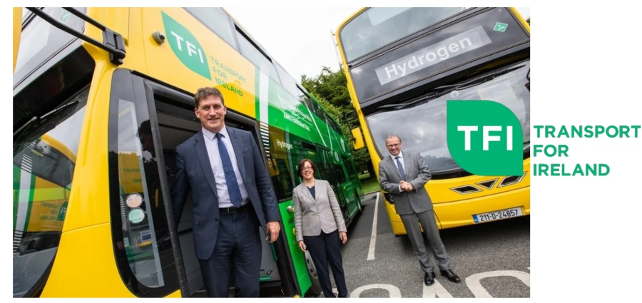 Fuel cells works, NTA And Bus Éireann Unveil Hydrogen Buses For Initial Use On Commuter Route 105