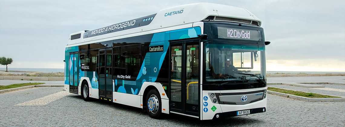 Fuel Cells Works, Toyota-Caetano Buses to the Netherlands