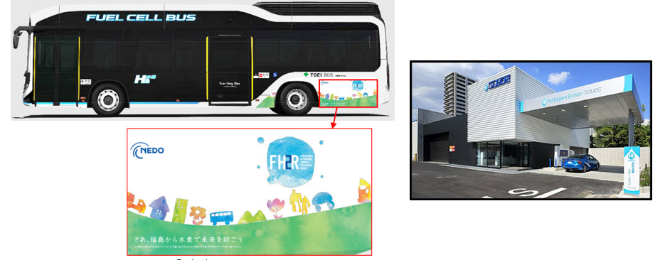 Fuel Cells Works, A Fuel Cell Bus that Utilizes Hydrogen Produced in Fukushima Prefecture Will Soon be Operational