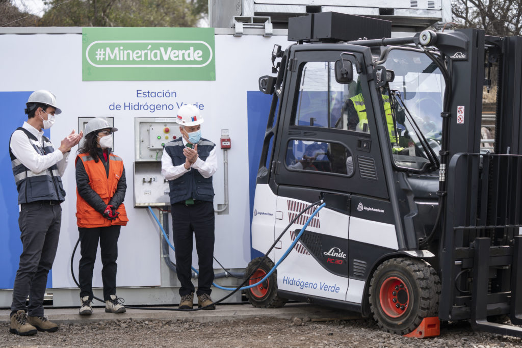 Anglo American Opens First Green Hydrogen Station for Zero Carbon Mining Vehicles in Chile 3
