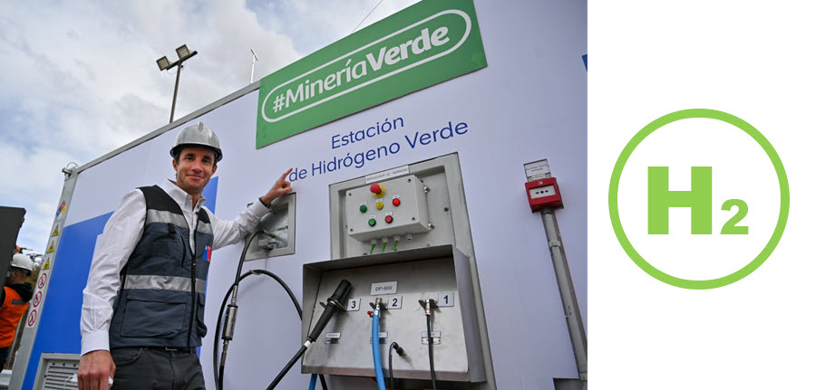 Fuel Cells Works, Anglo American Opens First Green Hydrogen Station for Zero Carbon Mining Vehicles in Chile