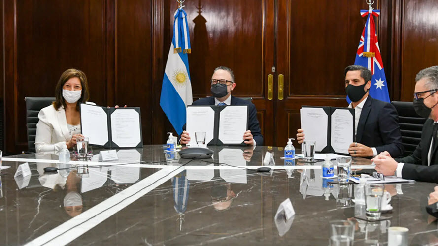 Fuel Cells Works, Argentina: The province of Río Negro Signs Agreement with Fortescue Future Industries on Green Hydrogen