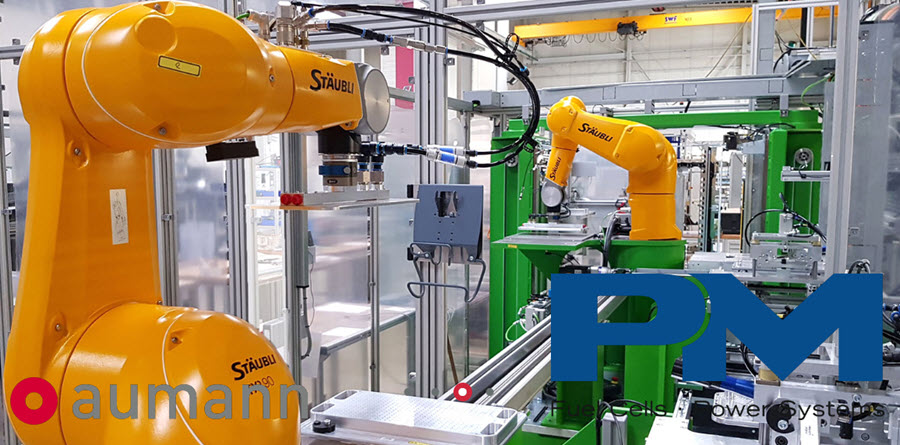 Fuel Cells Works, Aumann AG and Proton Motor Fuel Cell GmbH to Cooperate on Automated Hydrogen Fuel Cell Production Plant