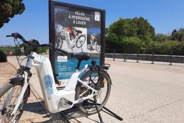 Beziers the First Tourist Town in France to Offer Self service Green Hydrogen Bicycles
