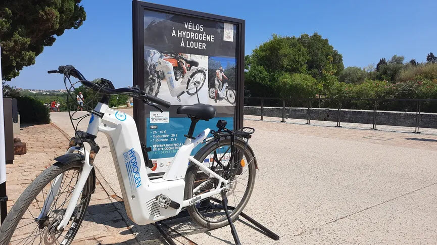 Fuel Cells Works, Béziers, the First Tourist Town in France to Offer Self-Service Green Hydrogen Bicycles