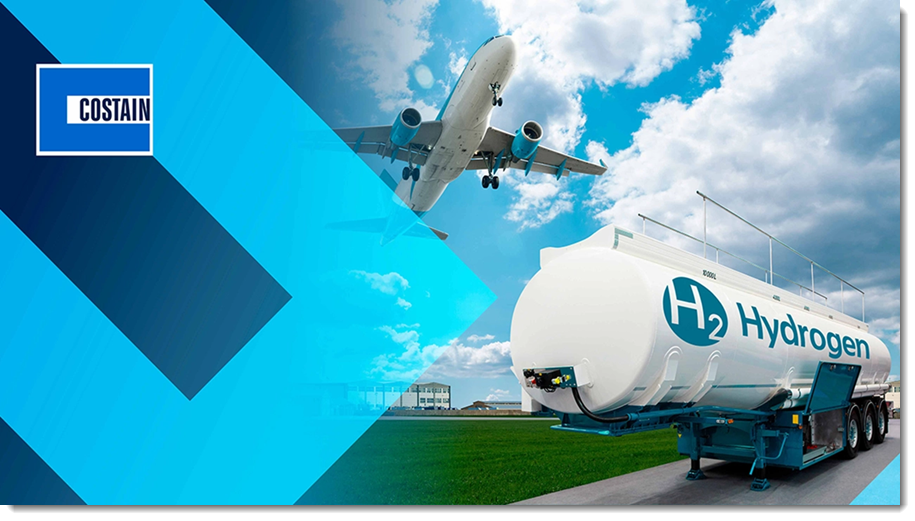 Fuel Cells Works, Costain Supports UK's FlyZero Exploration into Operation of Hydrogen-Fuelled Aircraft