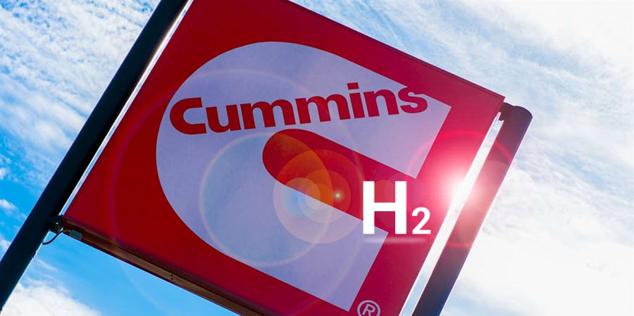 Fuel Cells Works, Thursday Throwback Story: Partnership to Position Cummins as Leader in Green Hydrogen Production