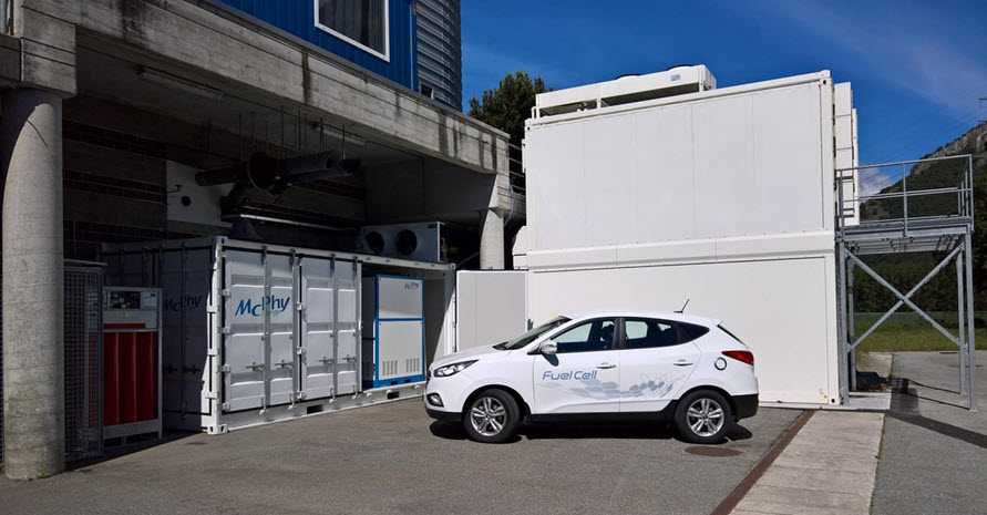 Fuel cells works, Charging Stations Can Combine Hydrogen Production and Energy Storage