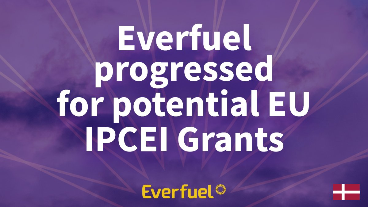 Fuel cells works, Everfuel Progressed For Potential EU IPCEI Grants on Green Hydrogen Projects