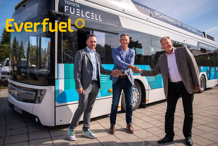 Fuel Cells Works, Everfuel Starts Hydrogen Refueling in Sweden