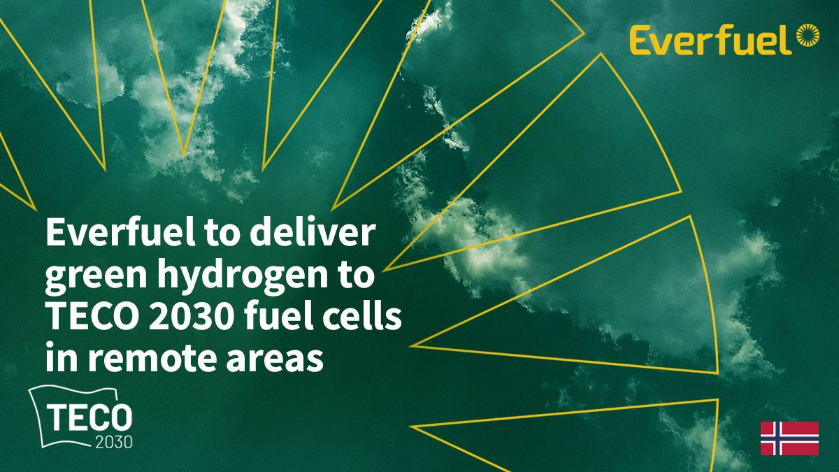 fuel cells works, Everfuel to Deliver Green Hydrogen to Fuel Cells Developed by TECO 2030