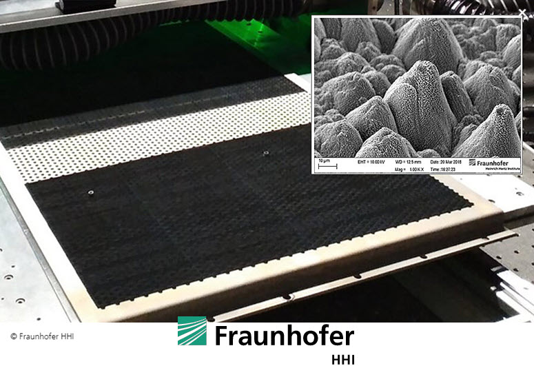 Fuel Cells Works, Fraunhofer HHI is Researching the Hydrogen Generation of the Future