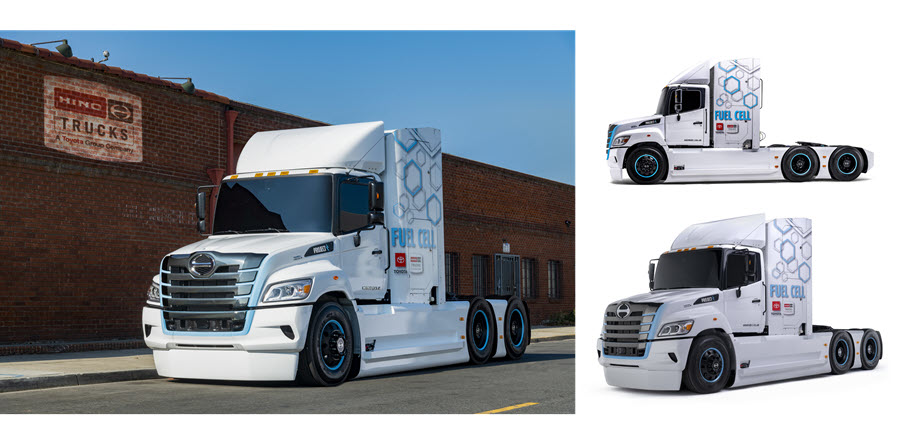 Fuel Cells Works, Hino Trucks Reveals First XL8 Fuel Cell Electric Truck Prototype