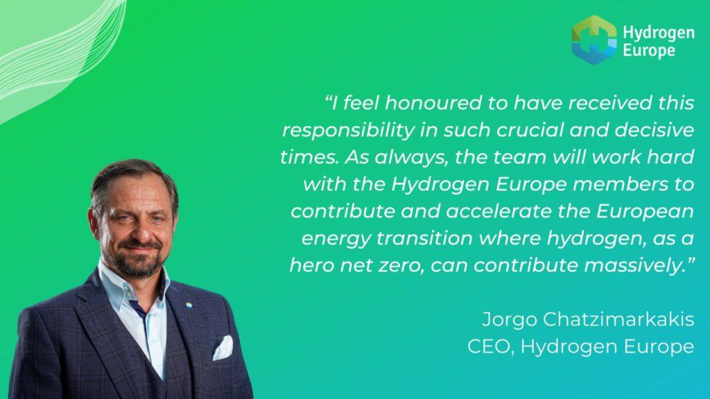 Hydrogen Europe Appoints Jorgo Chatzimarkakis
