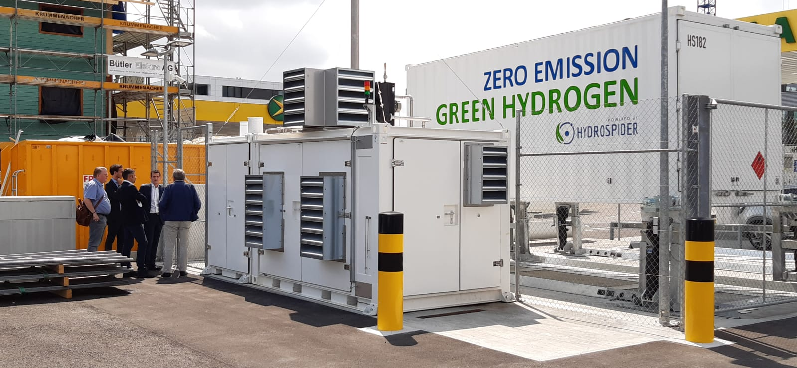 Fuel Cells Works, Hydrogen Mobility: Alfreider visits H2 Energy, a Model Project for decarbonisation in Switzerland