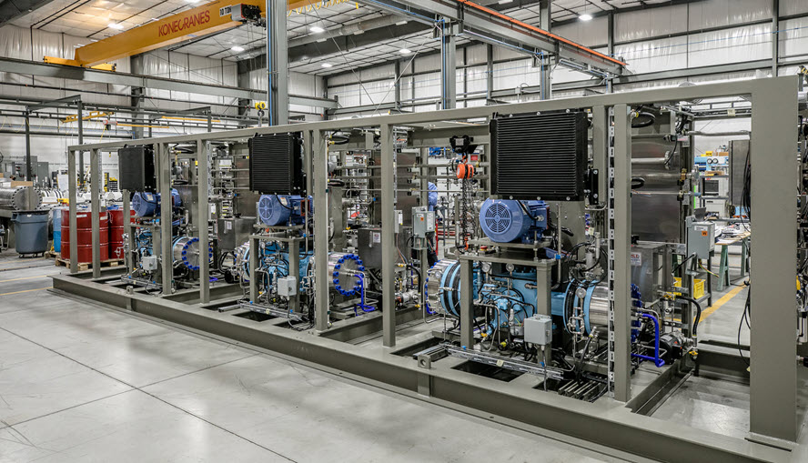 Fuel Cells Works, Hydrogen Refueling Station at CHUMTD in Champaign-Urban Mass Transit District (Illinois) by PDCM and Ivys Energy