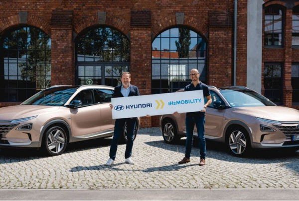Hyundai Becomes Shareholder in H2 MOBILITY