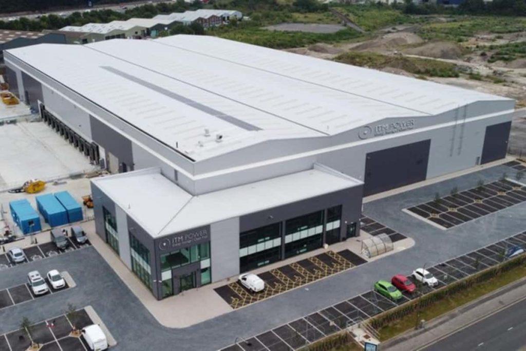 ITM Power Gigafactory