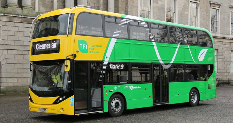 Fuel Cells Works, Ireland Takes Next Step in Testing Hydrogen Buses in Transport Fleet