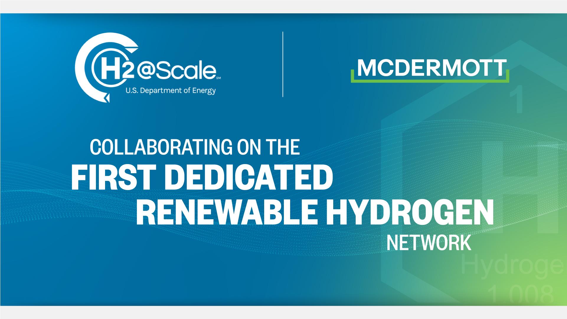 McDermott Hydrogen H2 Scale