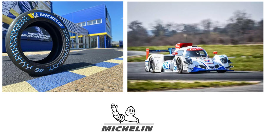 Fuel Cells Works, 24 Hours Le Mans: GreenGT's Hydrogen Prototype, the H24, Uses Tires Manufactured From 46% Recycled Materials From Michelin