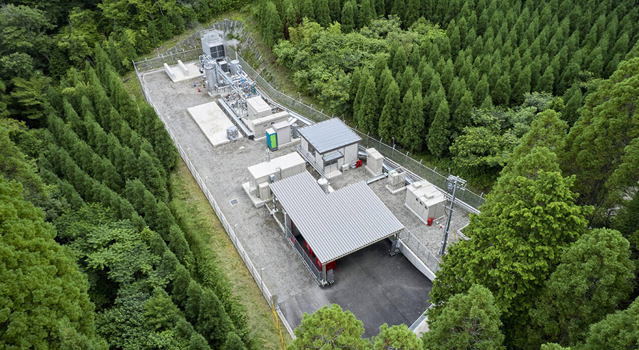 Obayashi Completes a Demonstration Plant for Hydrogen Production Using Geothermal