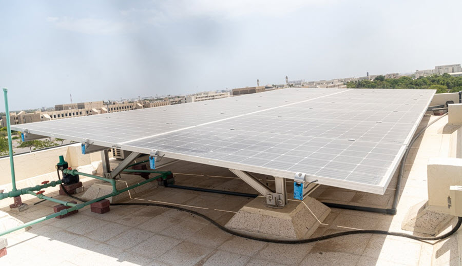 Fuel Cells Works, Oman: SQU Hybrid Power Plant Project is Equipped with State-of-the-art Equipment & Devices, Including a Smart Micro-Grid System, Electrochemical Hydrogen Fuel Cells