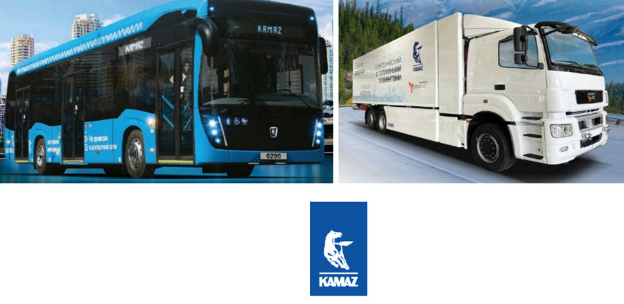 Fuel Cells Works, Russian OEM KamAZ to Unveil Hydrogen Fuel Cell Bus & Truck at COMTRANS 2021