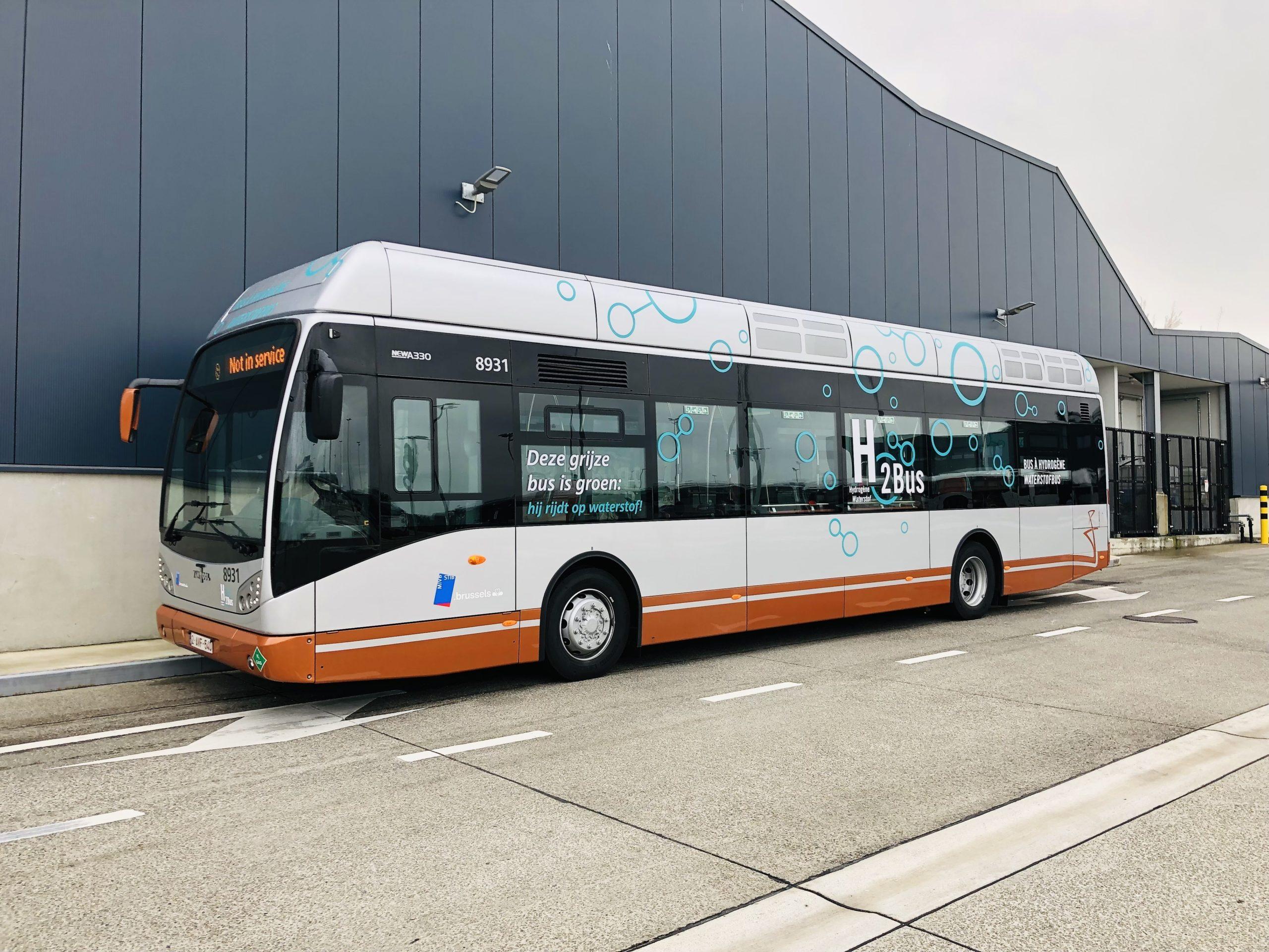 Fuel Cells Works, Belgium: STIB Unveils its First Hydrogen Bus