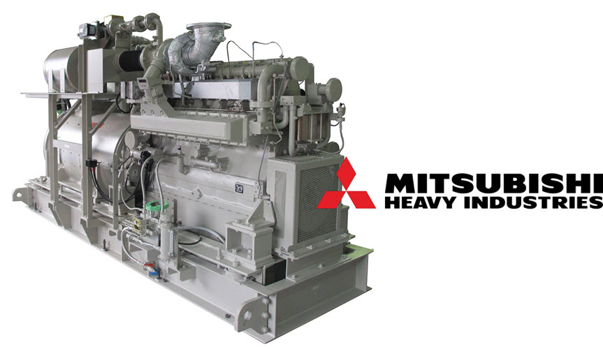 Toho Gas and MHIET Successfully Conduct Test Operation of City Gas and Hydrogen Mixed fuel Combustion in a Commercial Gas Engine