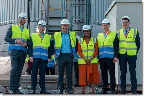 Fuel Cells Works, UK Treasury Minister Visits World-Leading Blue Hydrogen Project Located in the Humberside Cluster