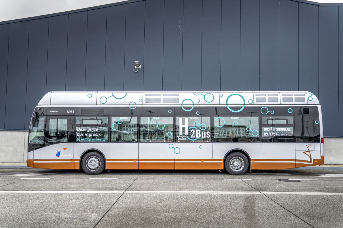 Fuel Cells Works, Van Hool Delivers First Hydrogen Bus to the STIB-MIVB in Brussels
