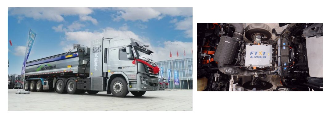 Fuel Cells Works, Weishi Energy's 100 Hydrogen Heavy Trucks Arrive to Help the Construction of Xiong'an
