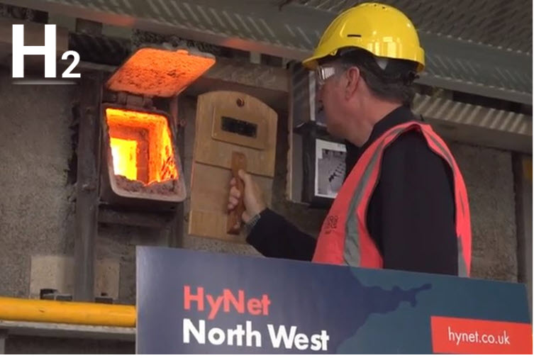 Fuel Cells Works, World First As 100% Hydrogen Fired At Pilkington UK, St-Helens