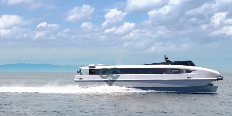 Fuel Cells Works, Green City Ferries Unveils Electric Hydrofoil Catamaran With Hydrogen Fuel Cells And/Or Batteries